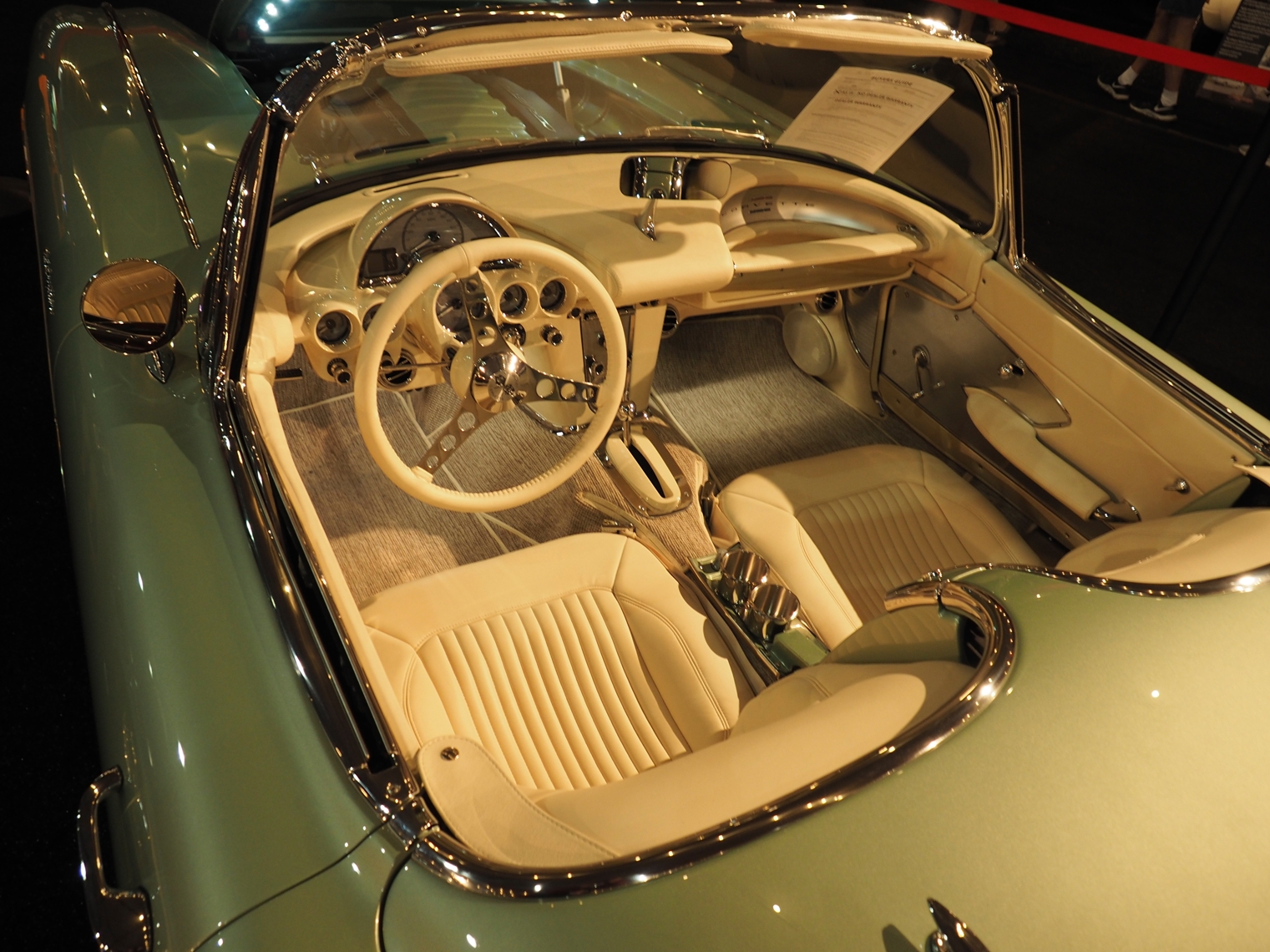 2021 Clevenger 1959 Corvette Convertible restomod interior