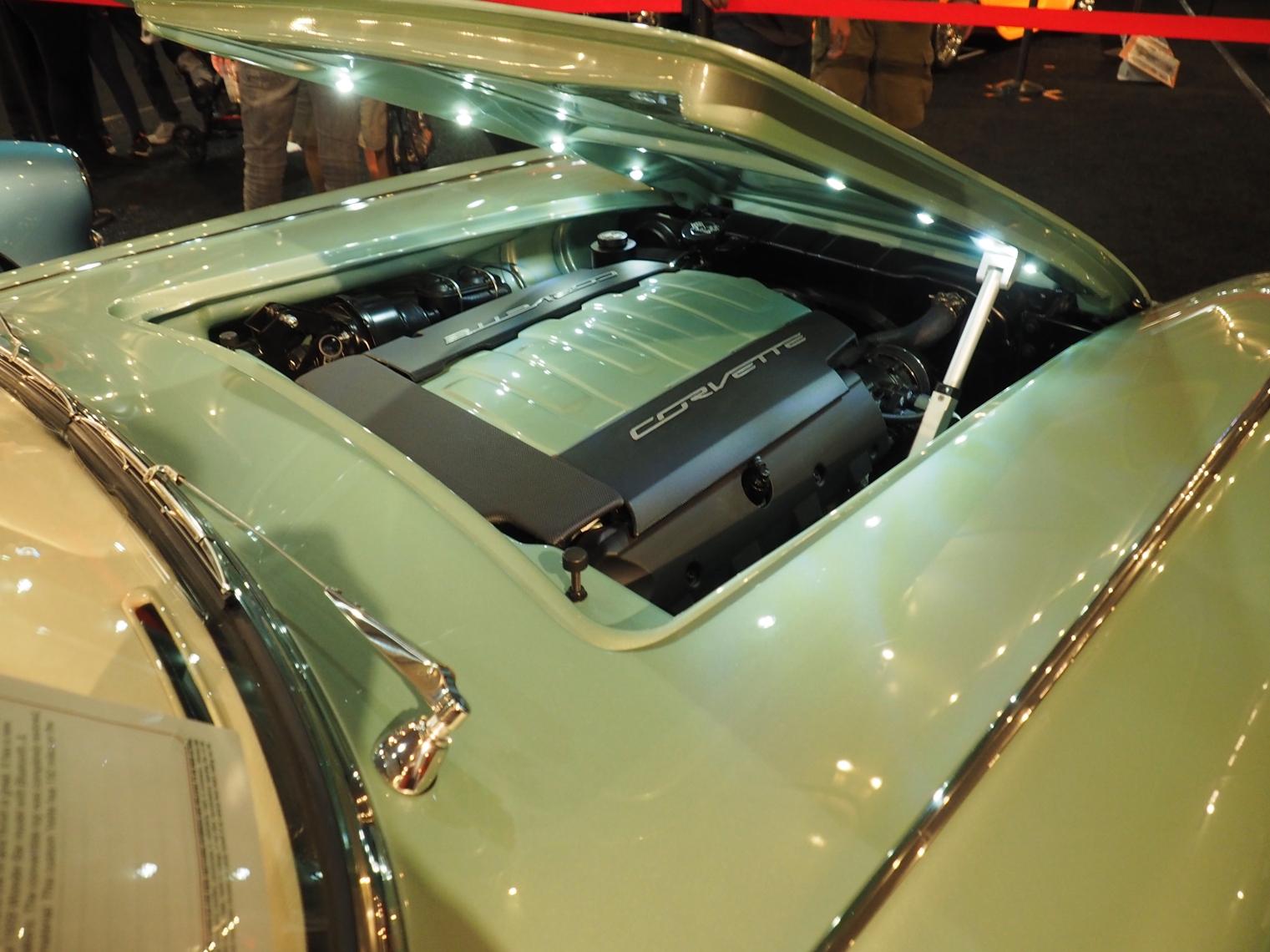 2021 Clevenger 1959 Corvette Convertible restomod engine