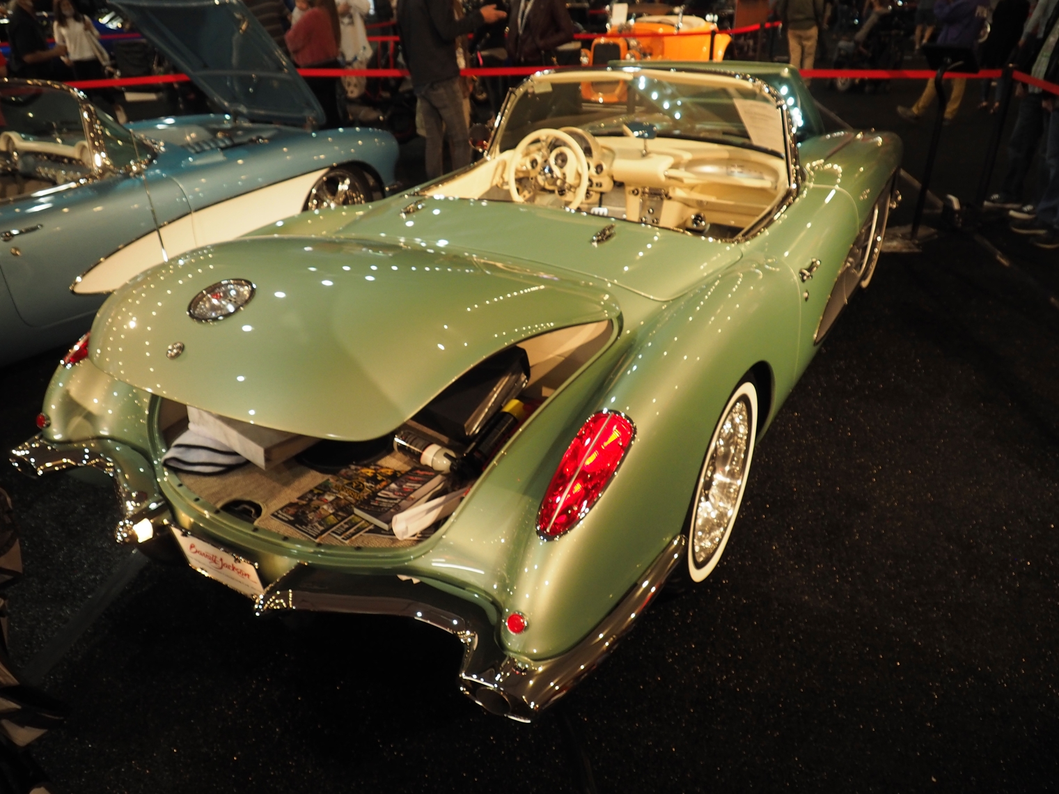 2021 Clevenger 1959 Corvette Convertible restomod
