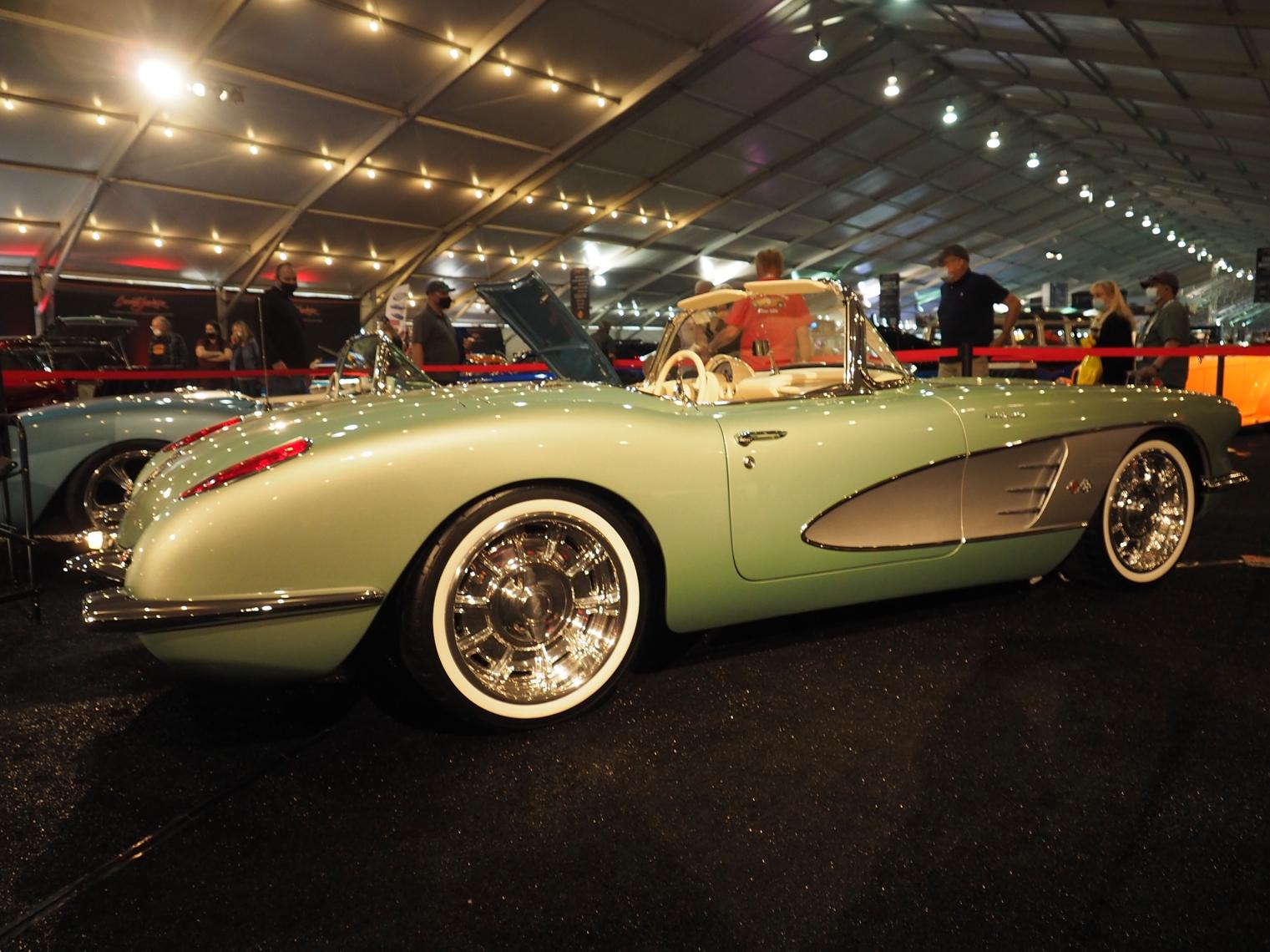 2021 Clevenger 1959 Corvette Convertible restomod
