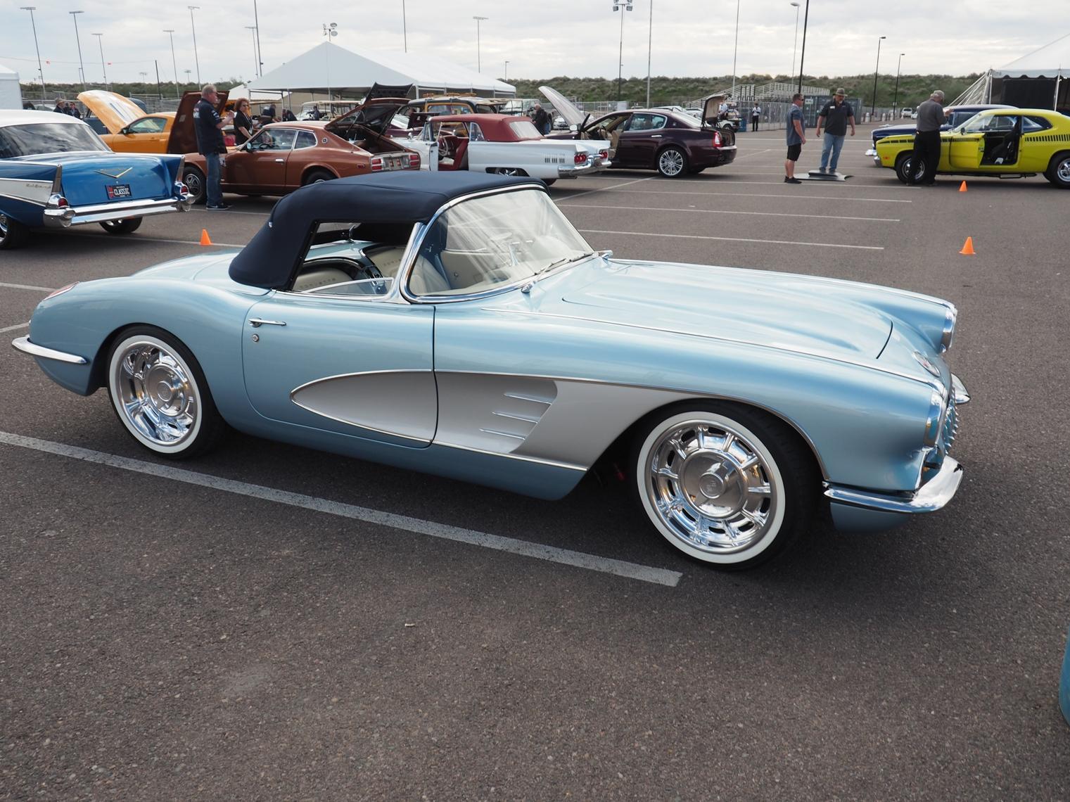 Clevenger Corvette roadster