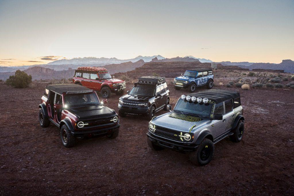 2021 Ford Bronco Easter Jeep Safari Concepts
