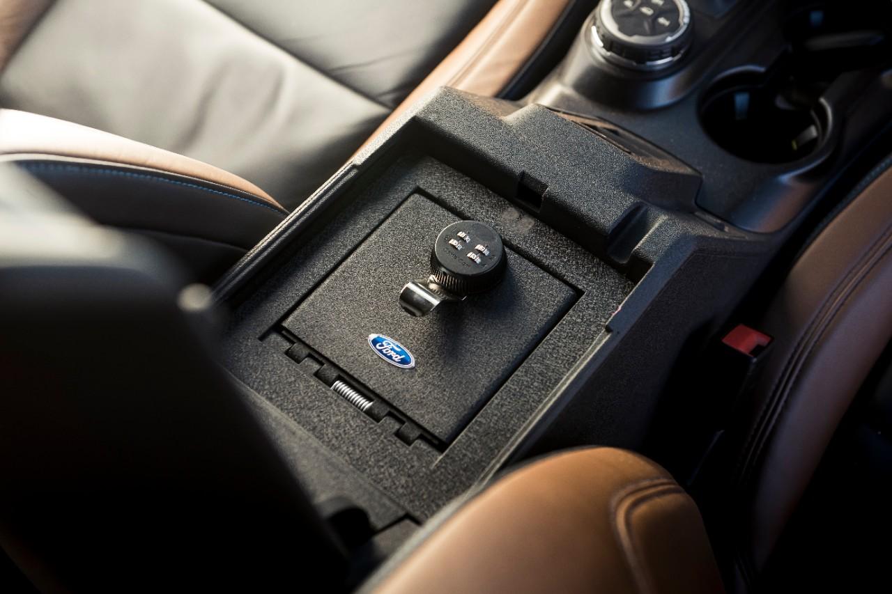 Outer Banks Bronco Concept Tuffy console safe