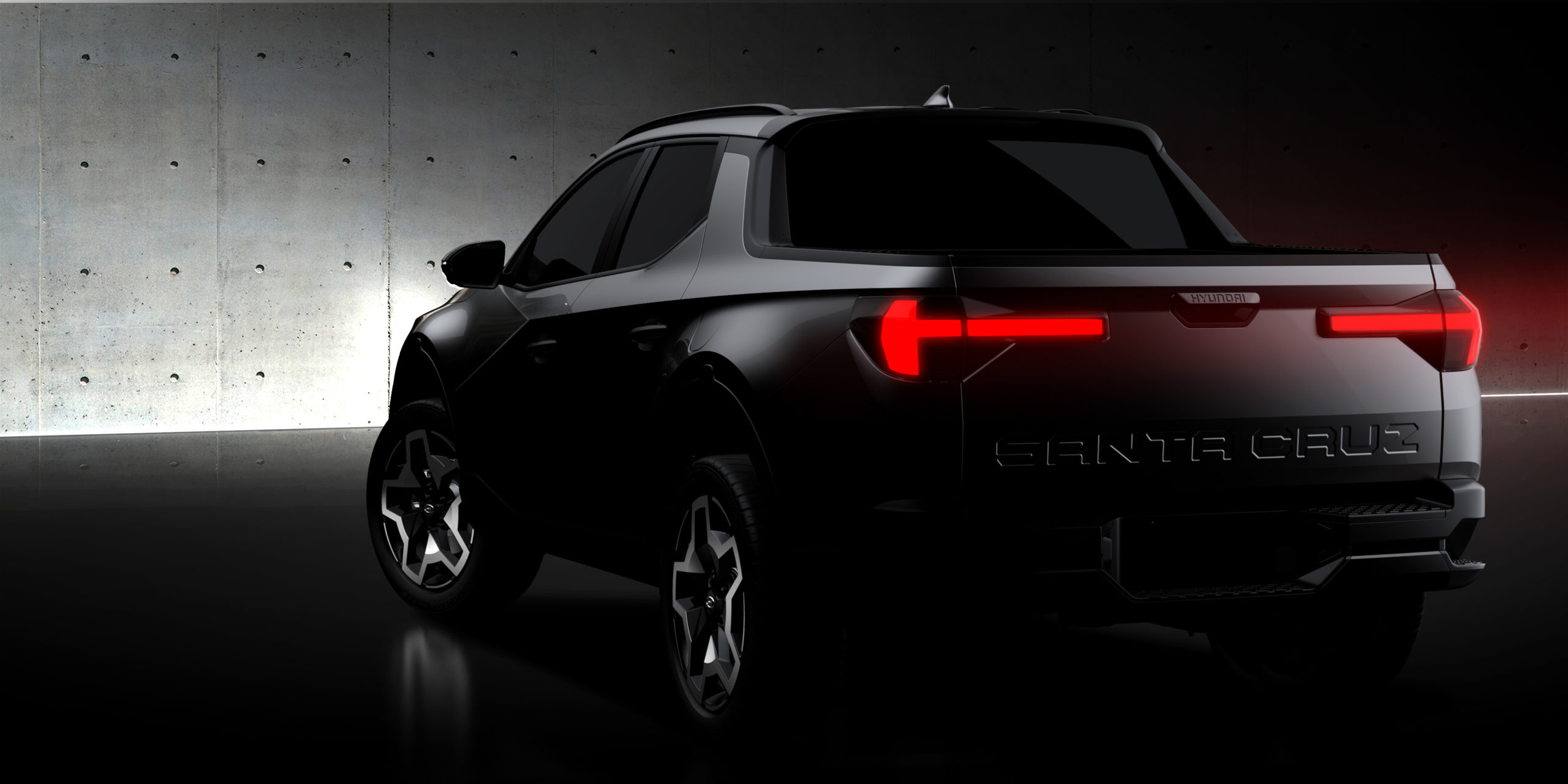 2022 Hyundai Santa Cruz teaser sketch