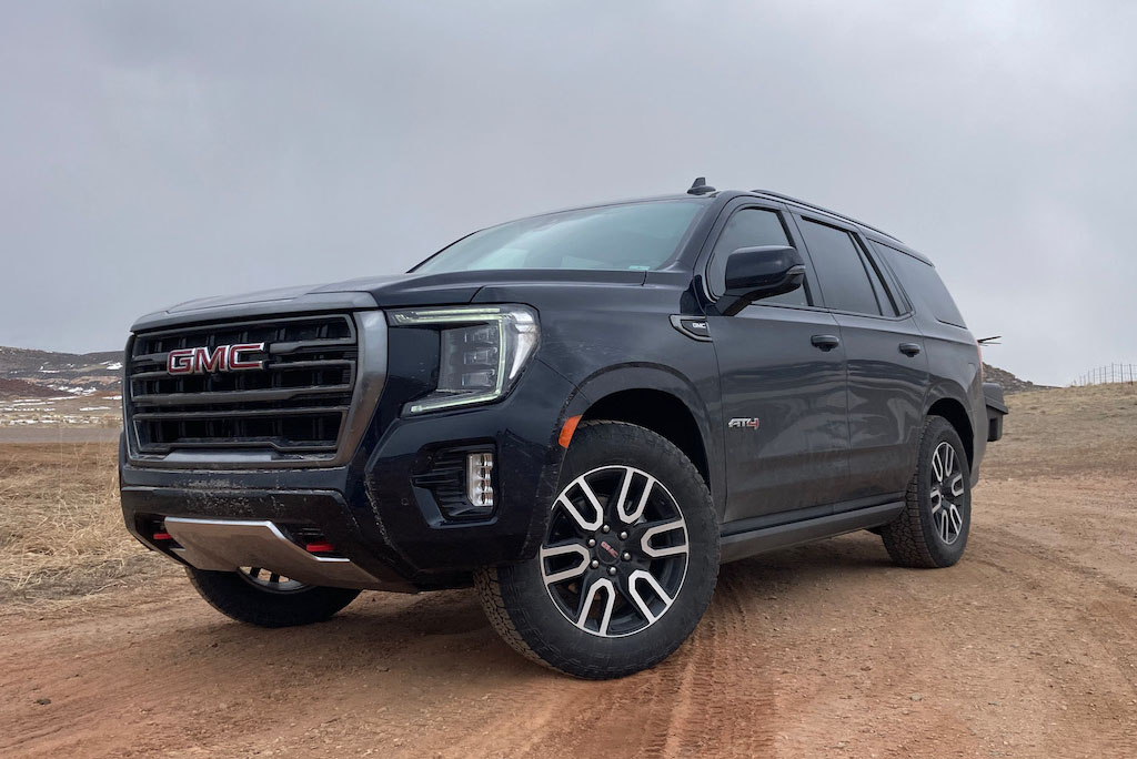 2021 GMC Yukon AT4 review