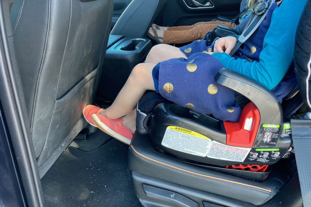 2021 GMC Yukon AT4 second row child seat