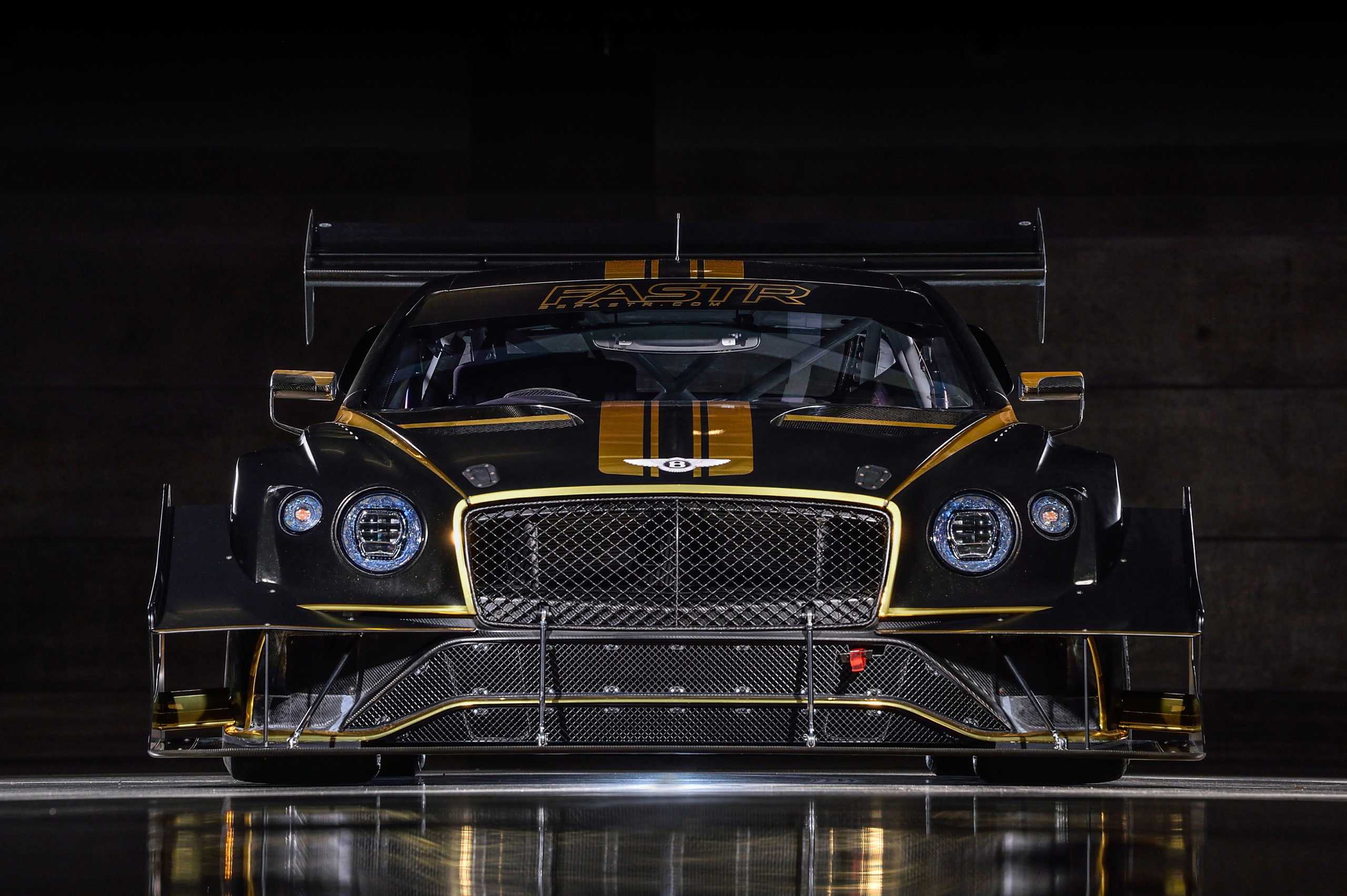 Bentley Continental  GT3 Pikes Peak Record Attempt On Renewable Fuel
