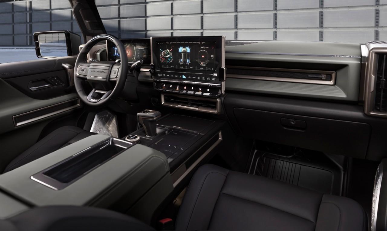 2024 GMC Hummer EV SUV interior