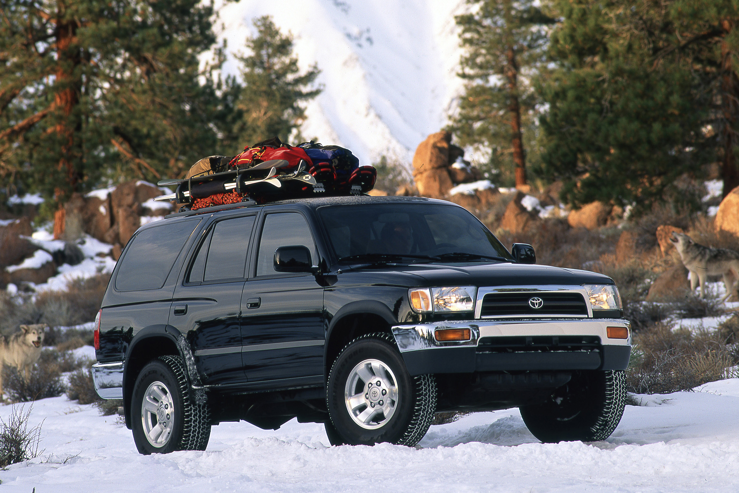 Best Affordable Classic 4x4s third-generation Toyota 4Runner