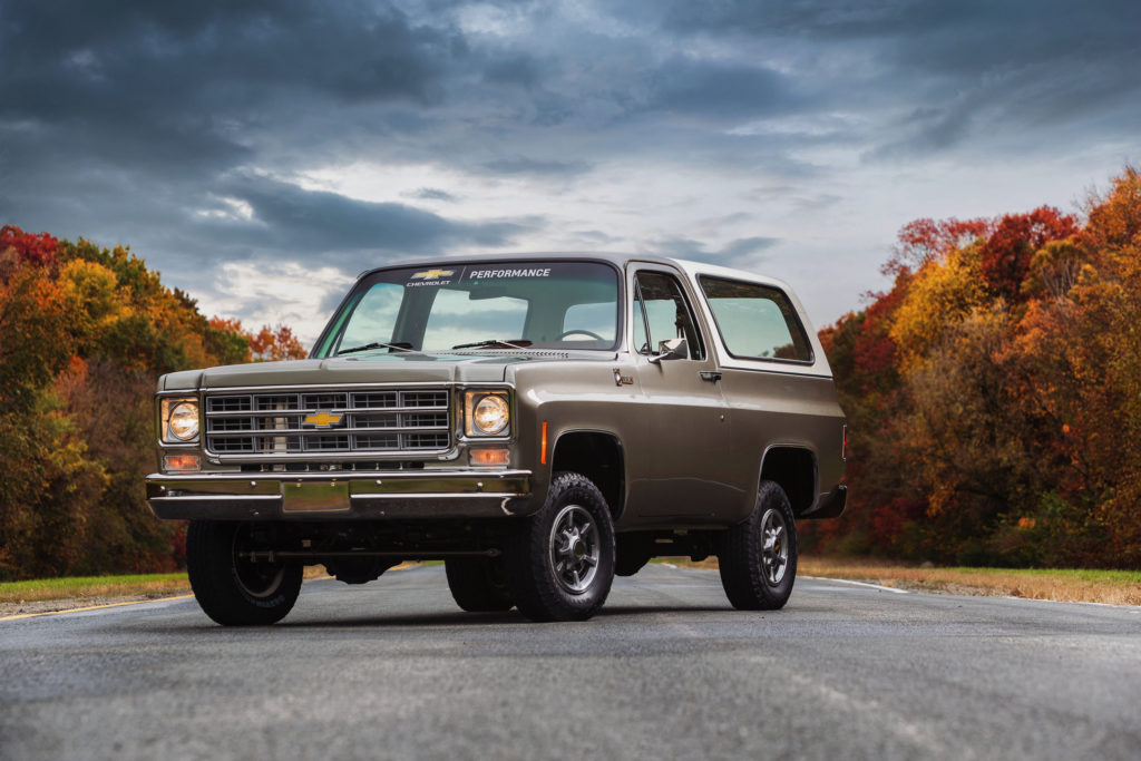 Best Affordable Classic 4x4s: Chevrolet K5 Blazer 4x4 (1973-1991)