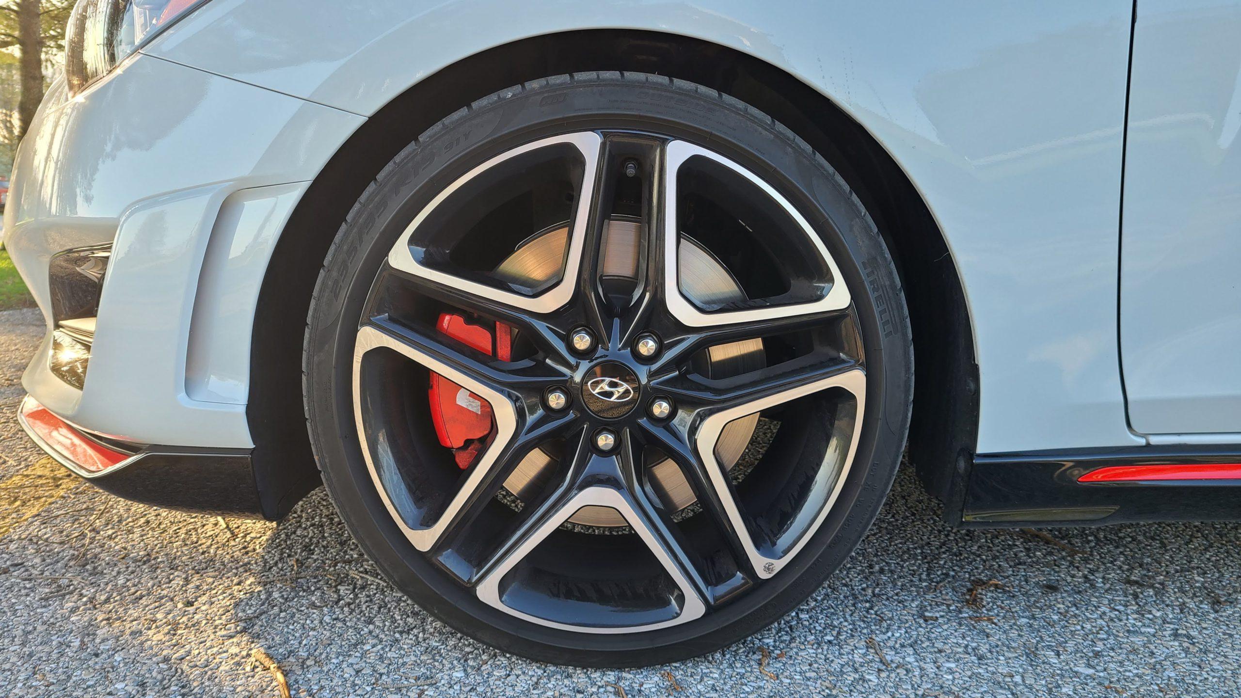 2021 Hyundai Veloster N wheels