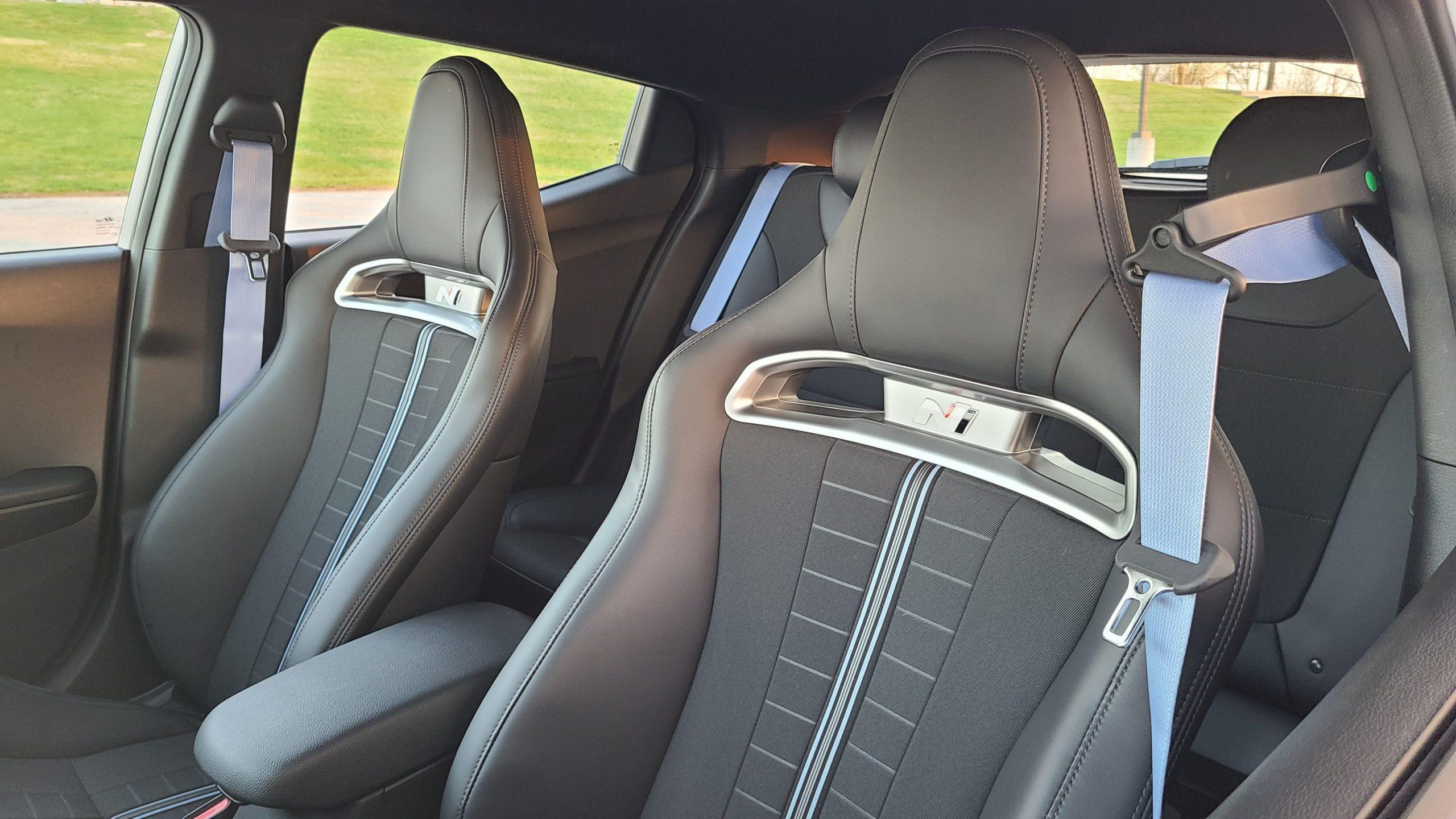 2021 Hyundai Veloster N seats