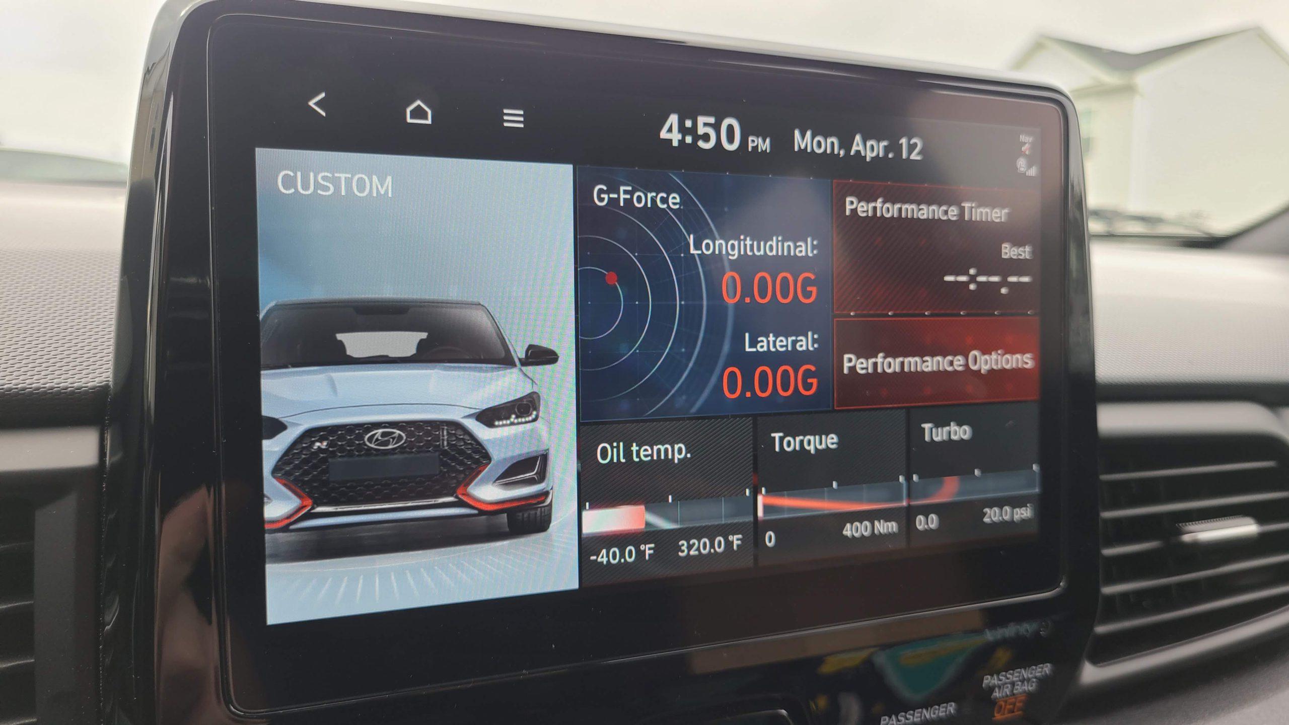 2021 Hyundai Veloster N - N Mode