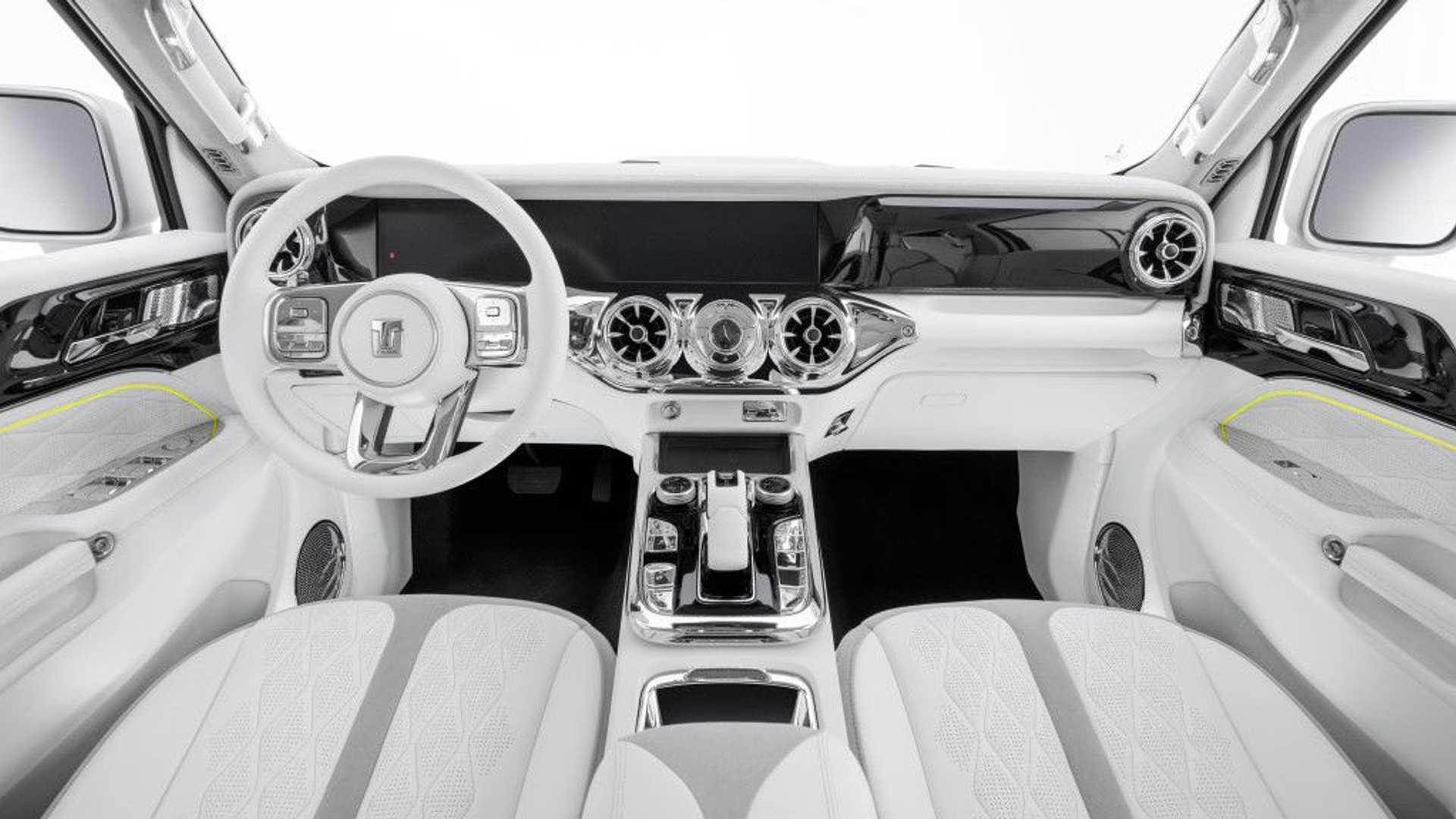 WEY Cyber Tank 300 Concept interior