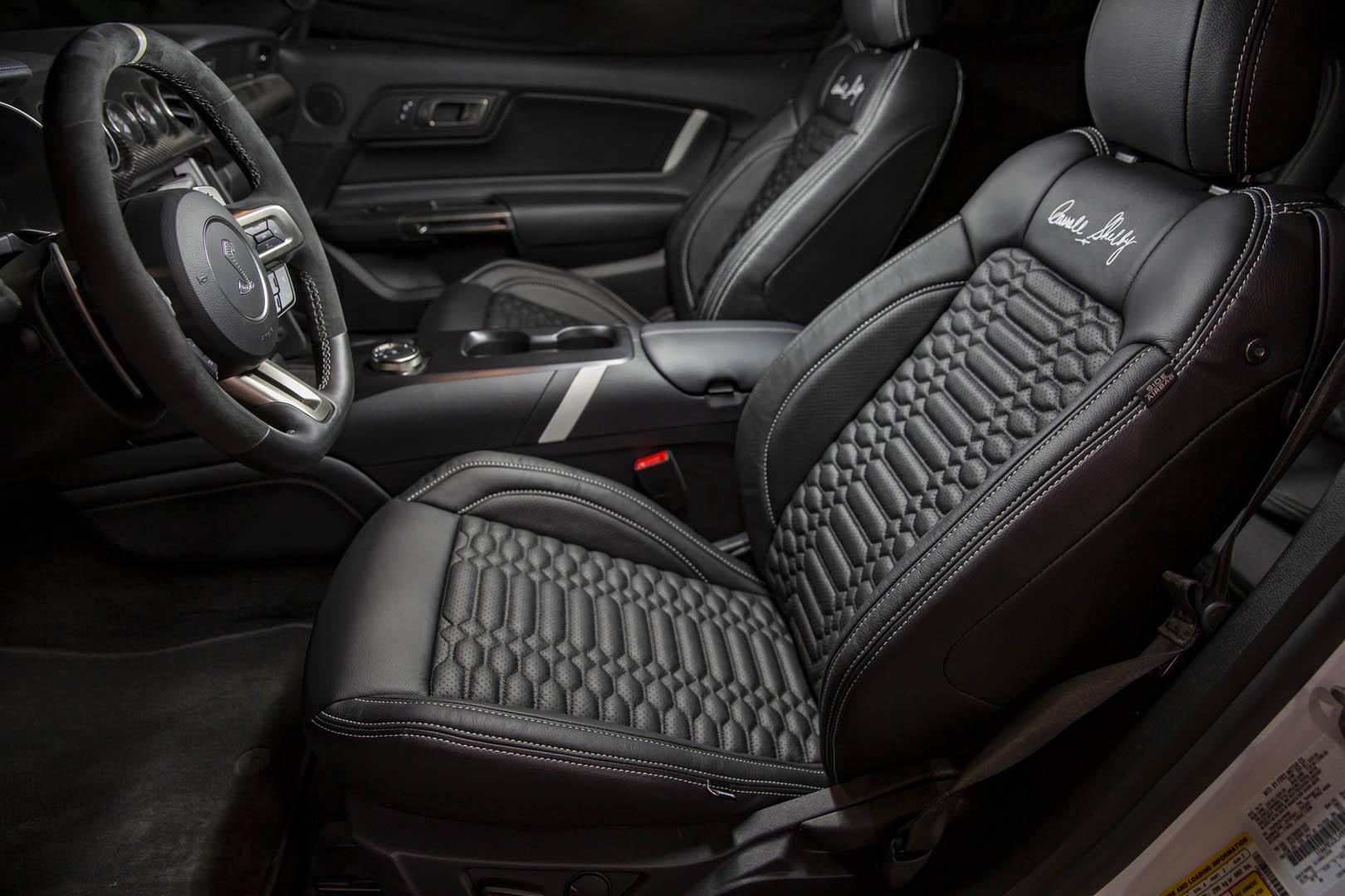 2021 Shelby GT500SE interior