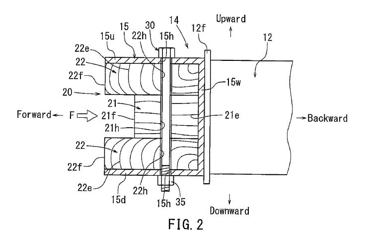 toyota wood bumper patent