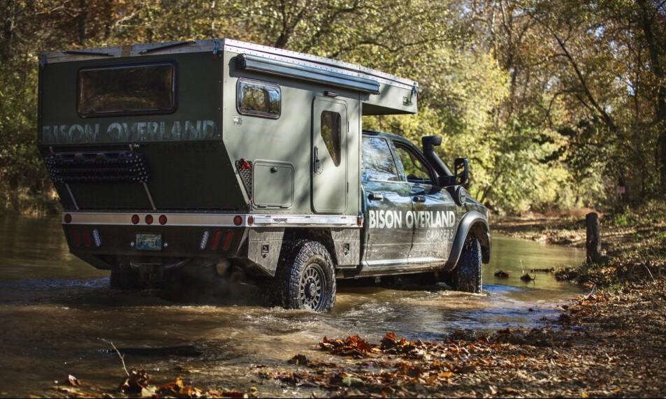 Best Truck Camper: Bison Overland Space Wrangler