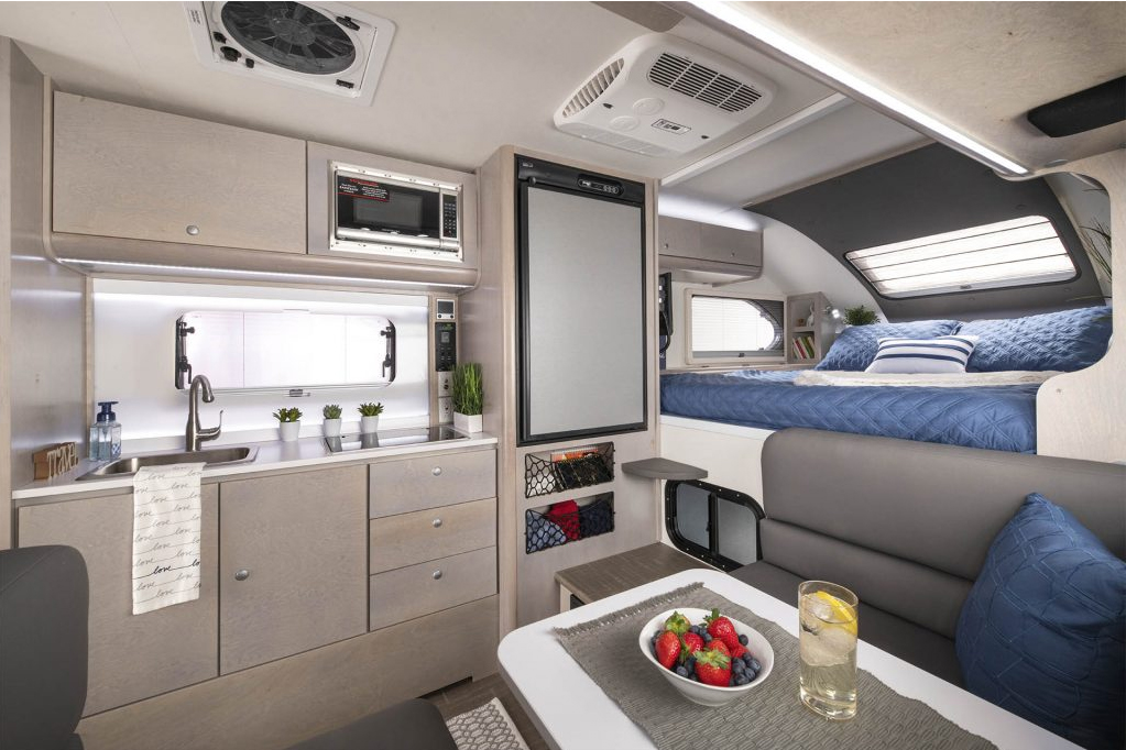 Best Truck Campers - 820 Cirrus Interior