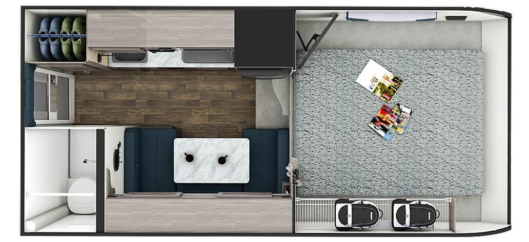 Best Truck Campers: Lance 825 Interior