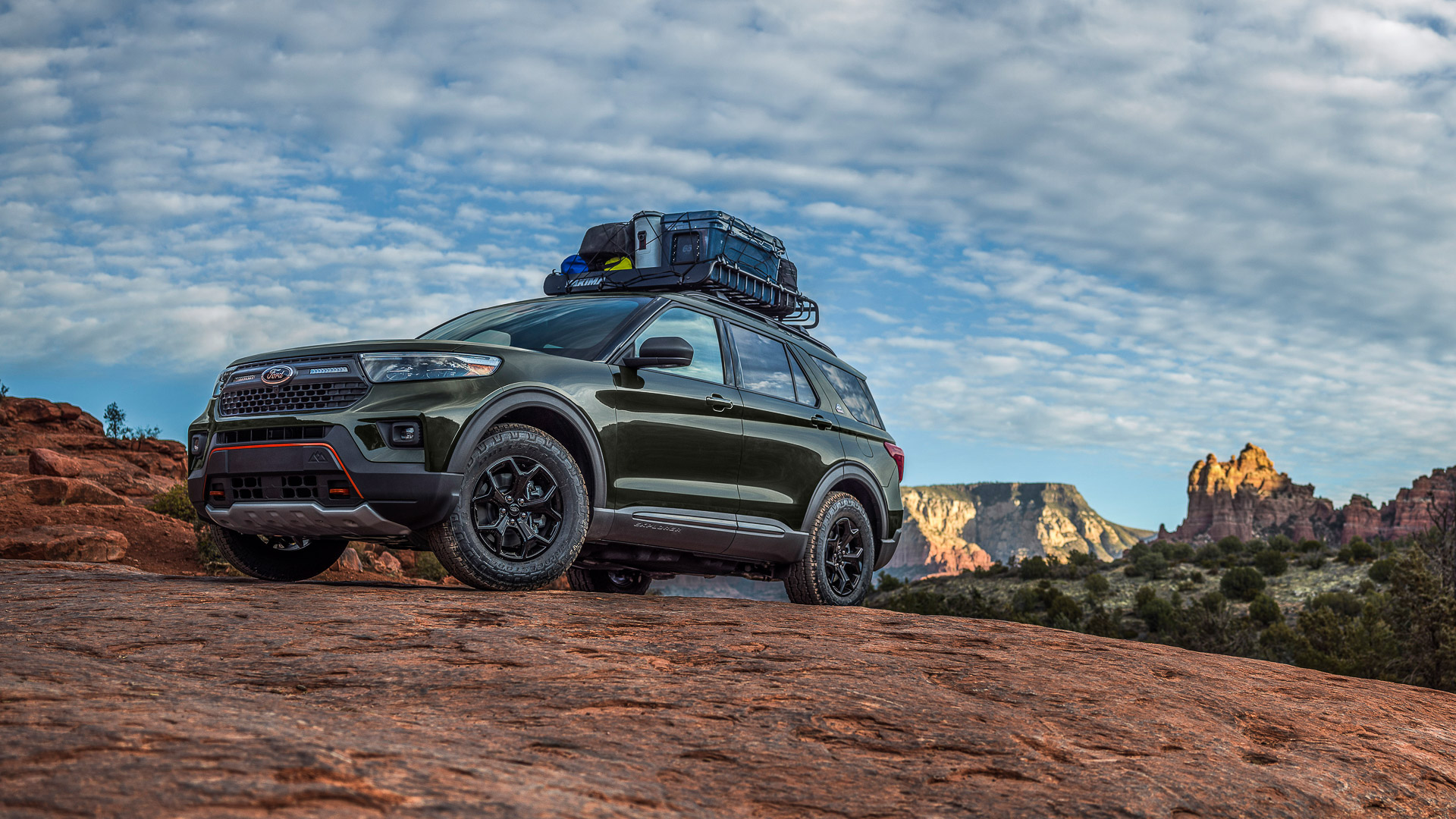 2021 Ford Explorer Timberline: 7-Passenger Off-Road Adventure Machine