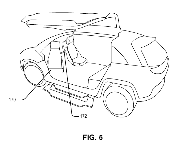 Honda Autonomous Car Ingress/Egress Patent