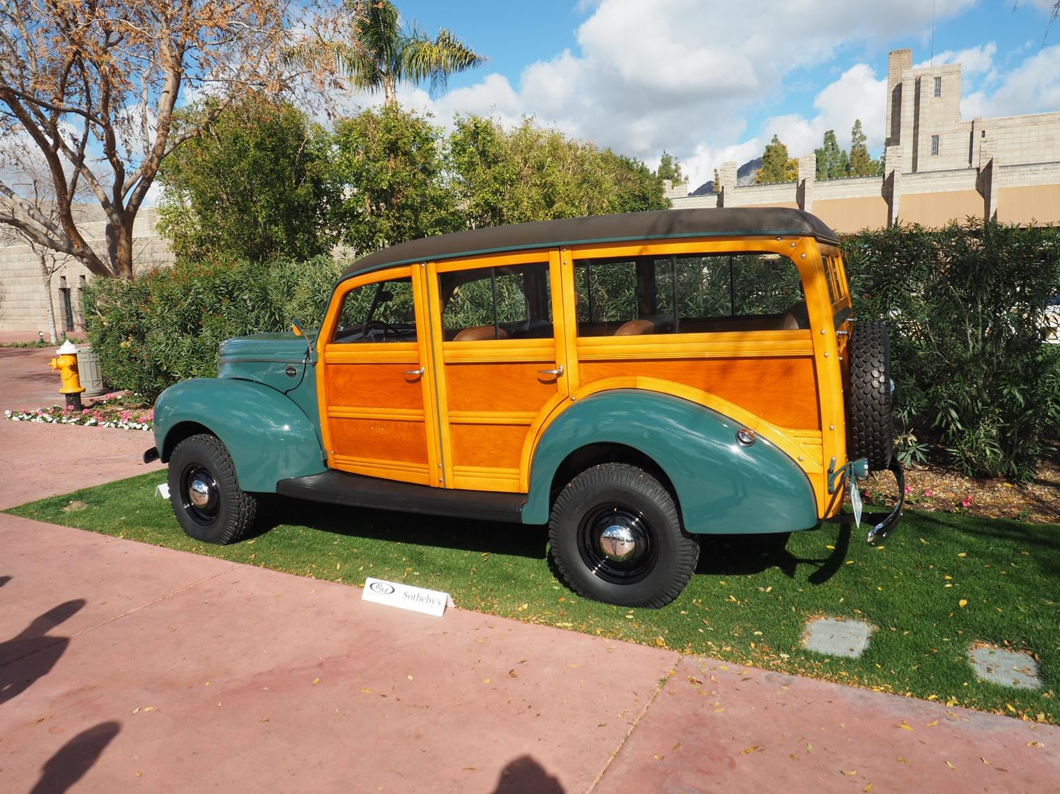 1940 Ford Woody Wagon with Marmon-Herrington 4X4