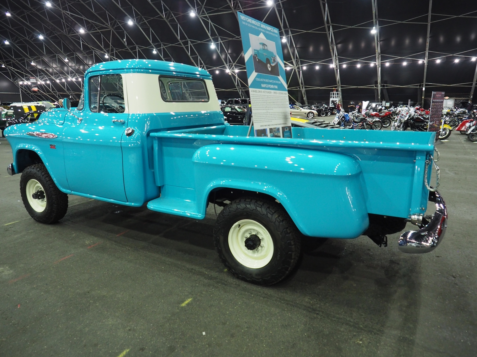 NAPCO 4x4 conversion kit equipped GMC truck