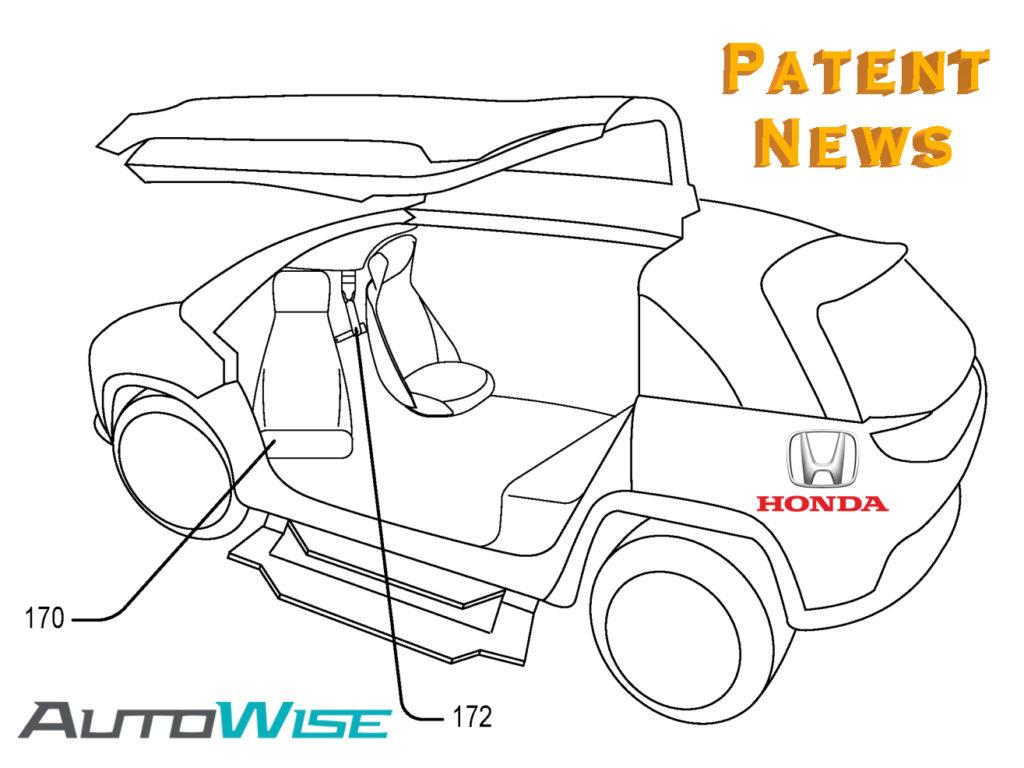 Honda Autonomous Car Patent