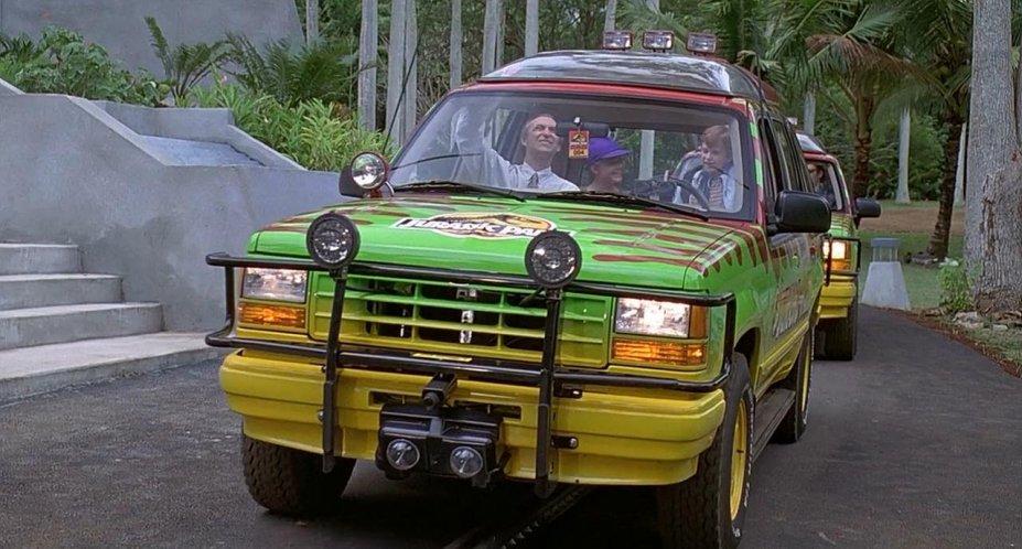 best jurassic park vehicles