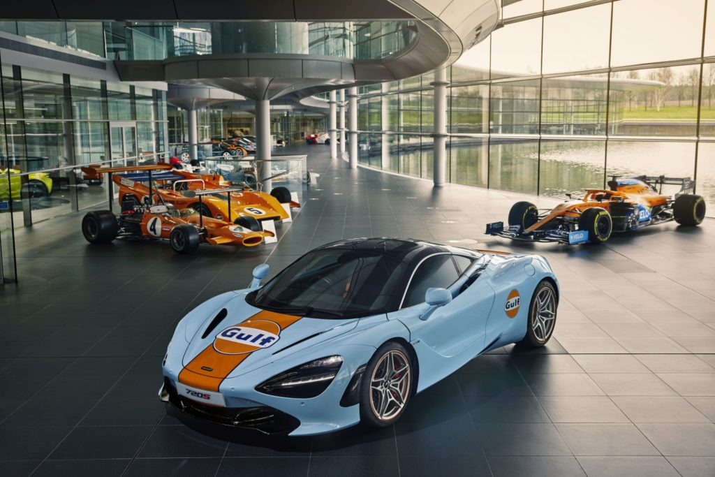 McLaren Gulf Livery 720S