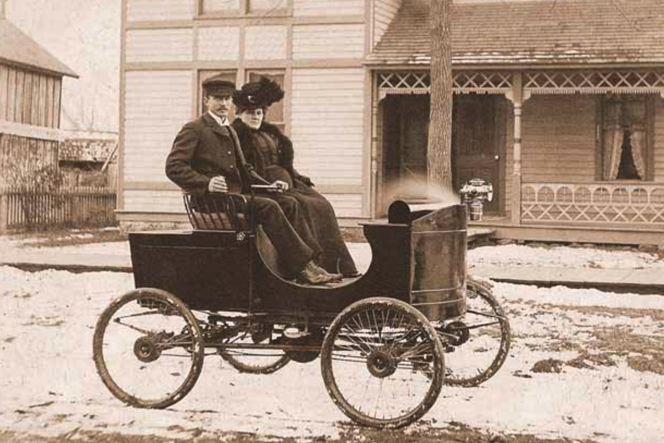 first four-wheel-drive Cotta-mobile