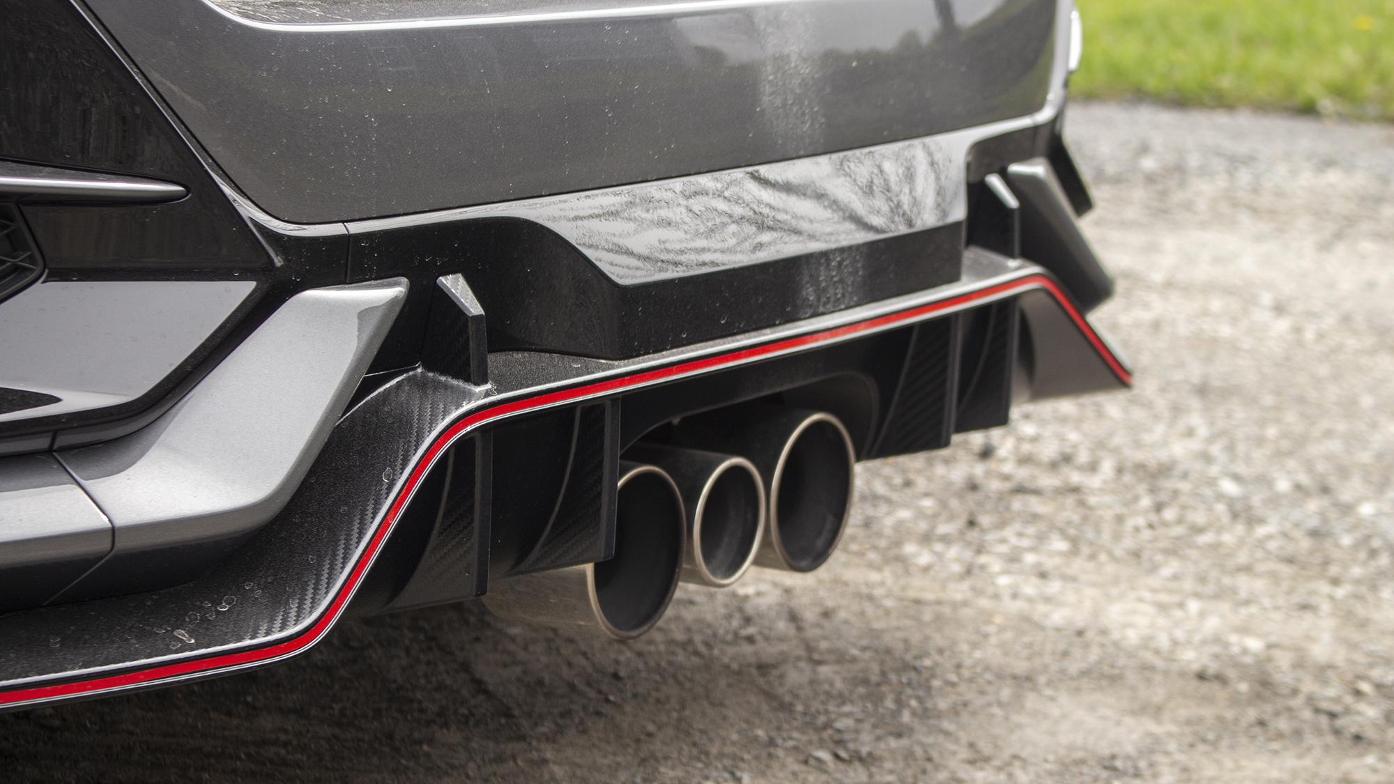 2021 Honda Civic Type R exhaust