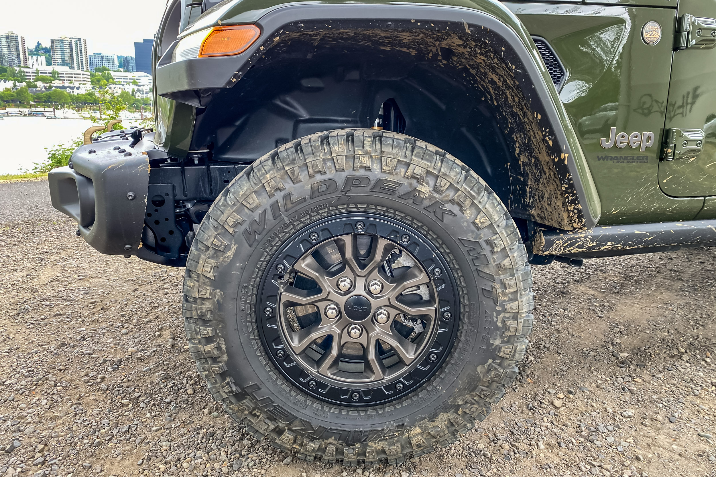 2021 Jeep Wrangler Rubicon 392 wheels and tires