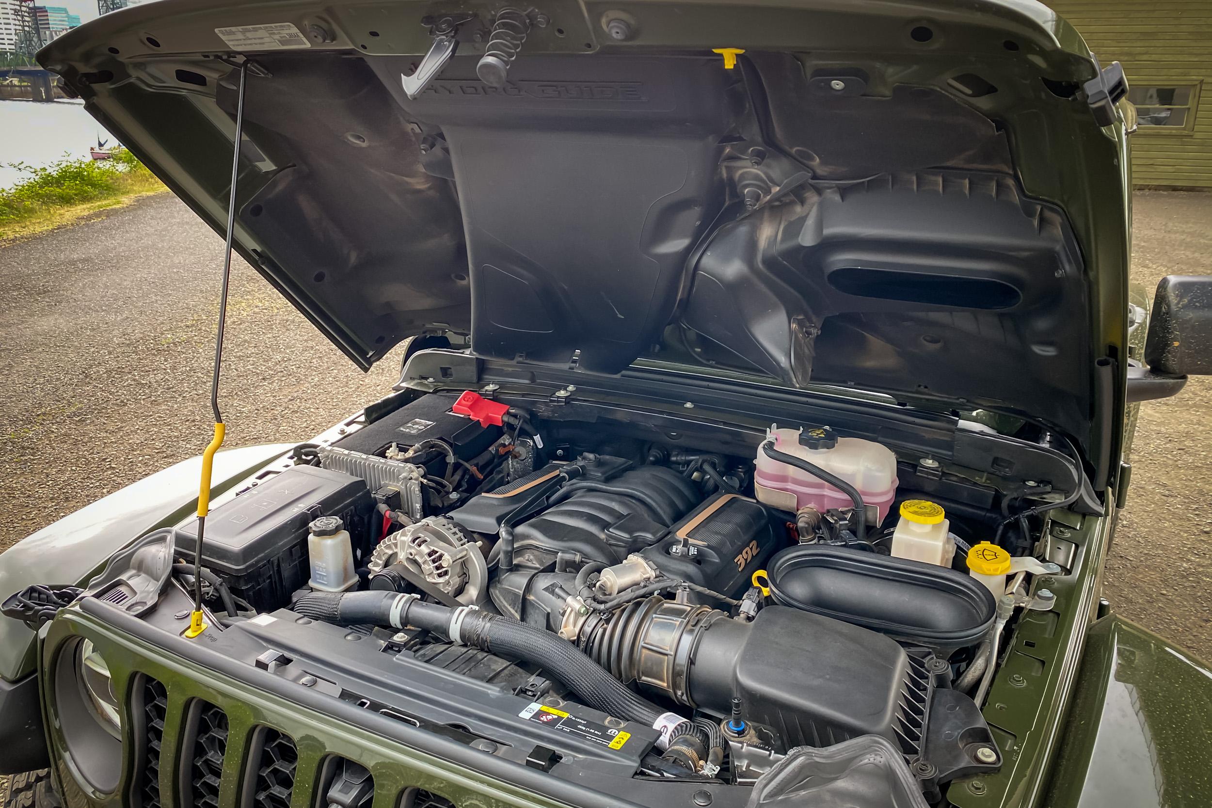 2021 Jeep Wrangler Rubicon 392 Hemi engine