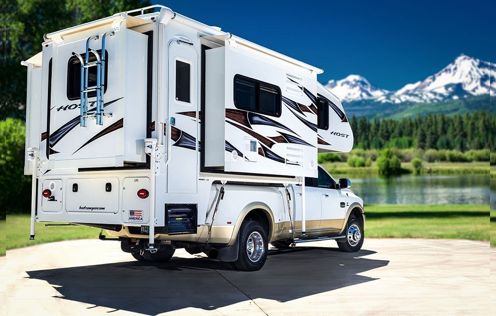 """Best Truck Campers:Host Campers Mammoth 11'6"""""""