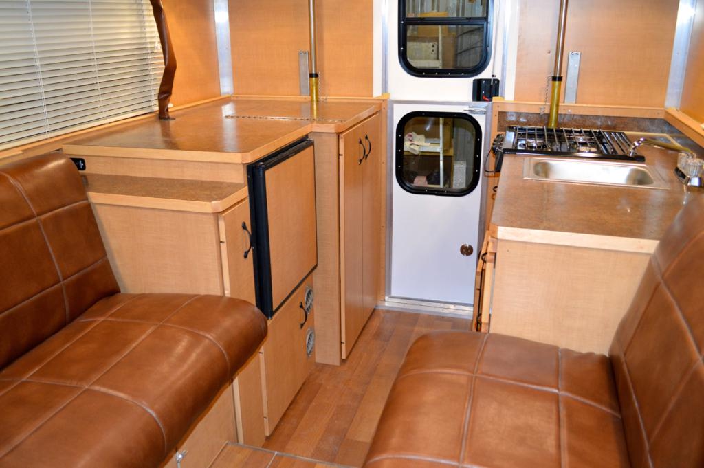 Alaskan 8.5FD Truck Camper Interior