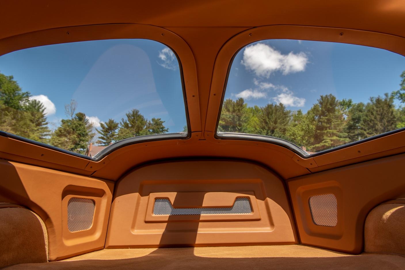 Interior of 1963 Corvette