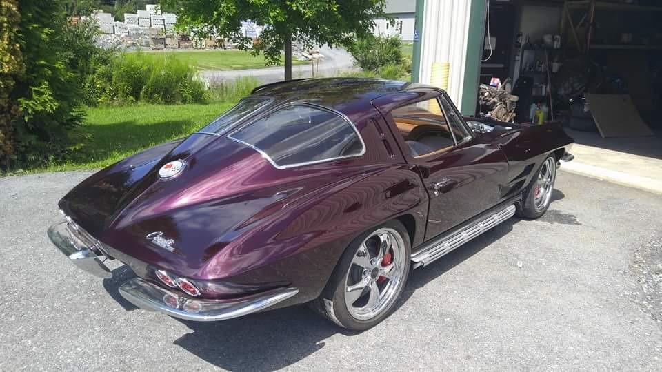 Rear View of 1963 Split Window Corvette
