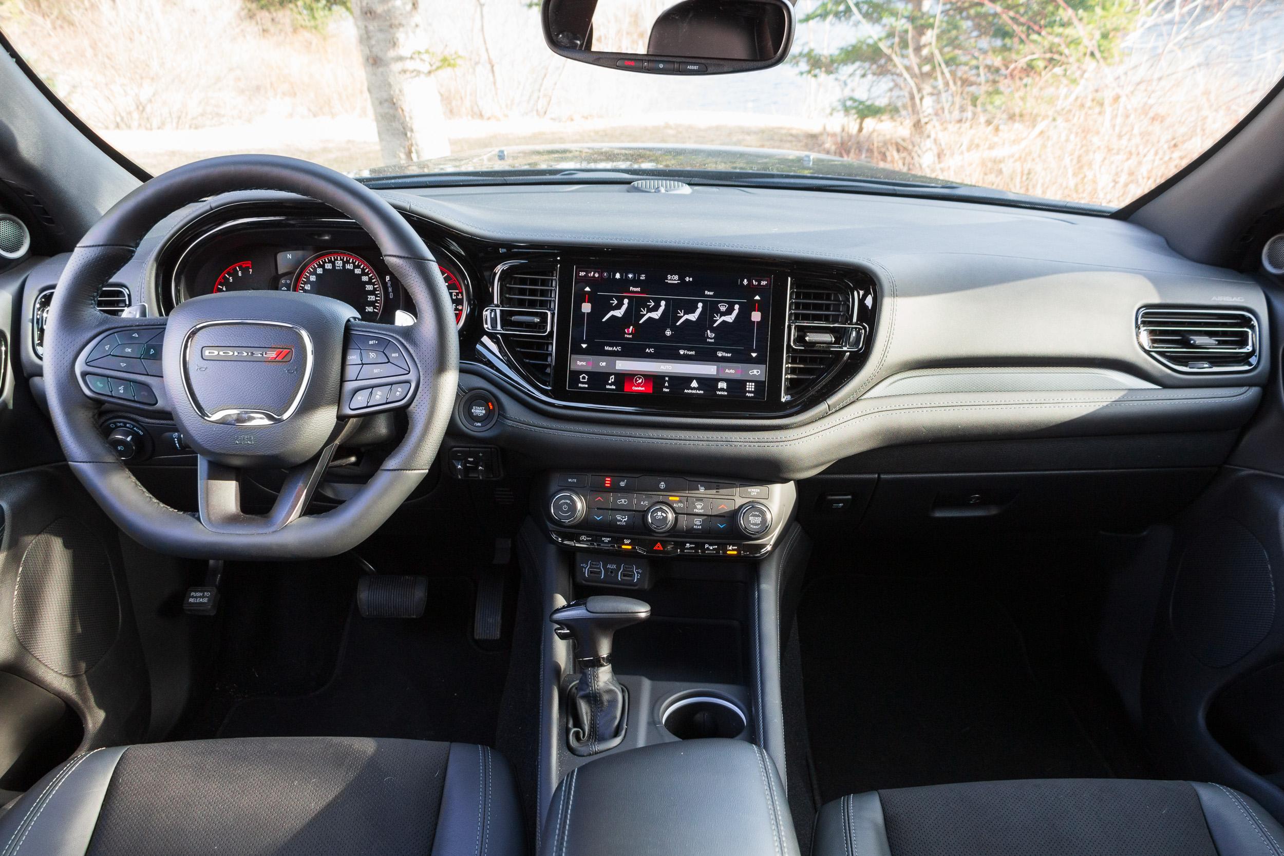 2021 Dodge Durango GT dash