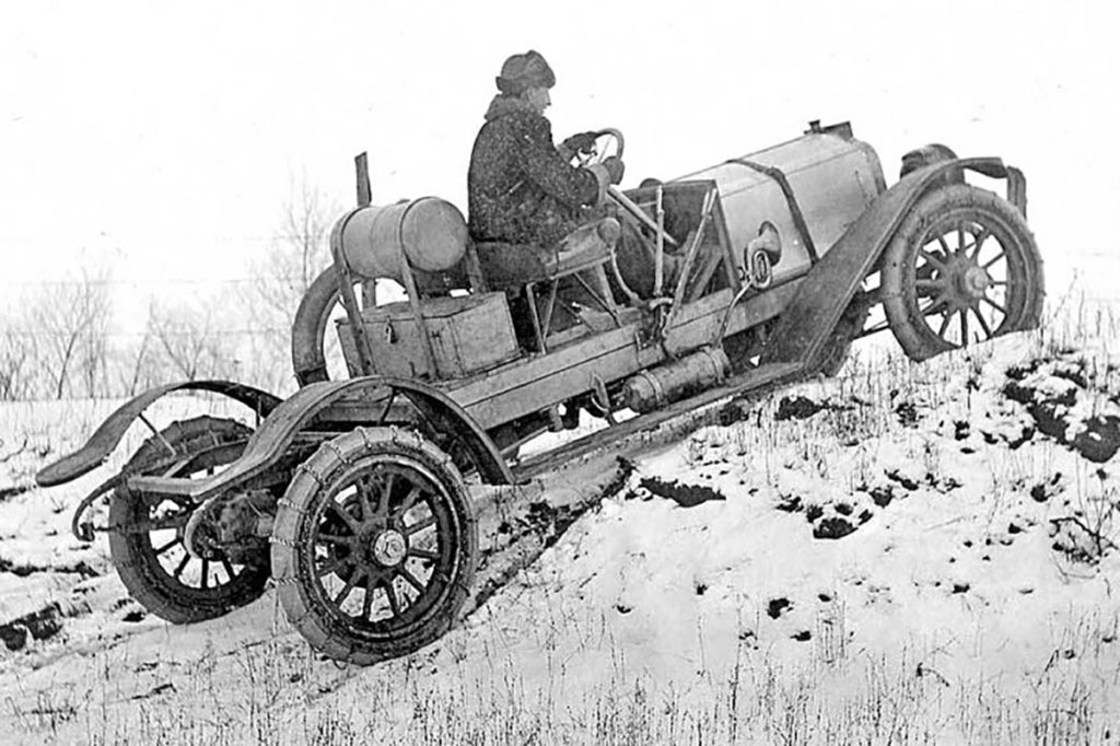 First Four-Wheel-Drive Vehicles
