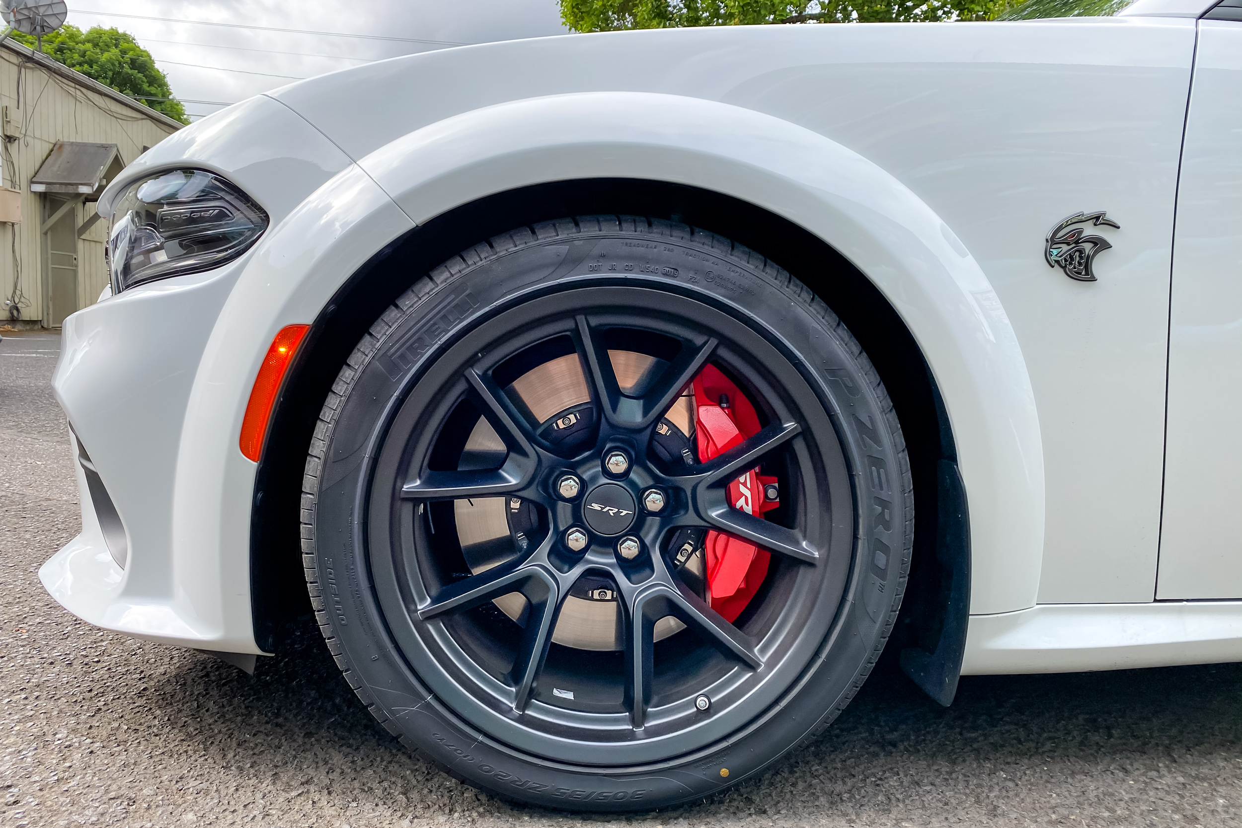 2021 Dodge Charger SRT Hellcat Redeye Widebody front wheel