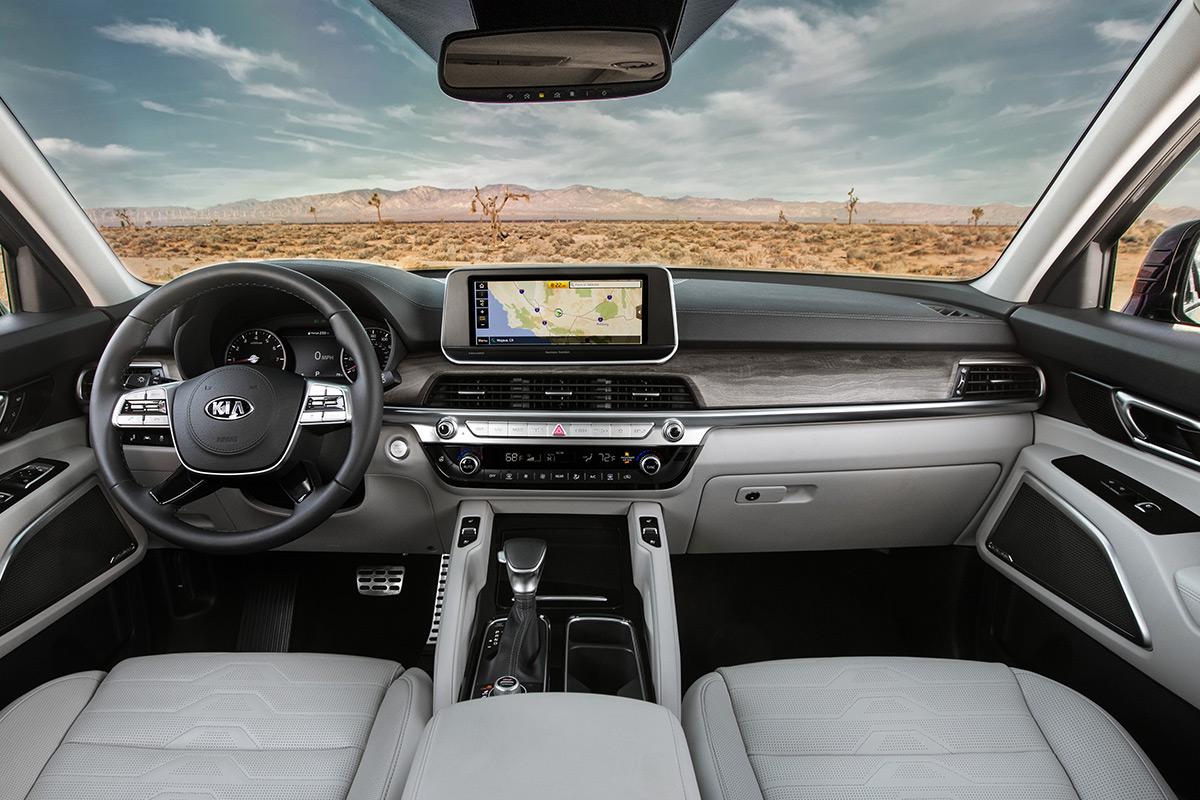 2021 Kia Telluride SX AWD interior