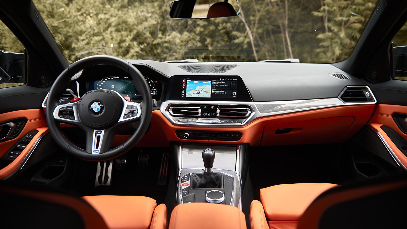 2021 BMW M3 Cockpit