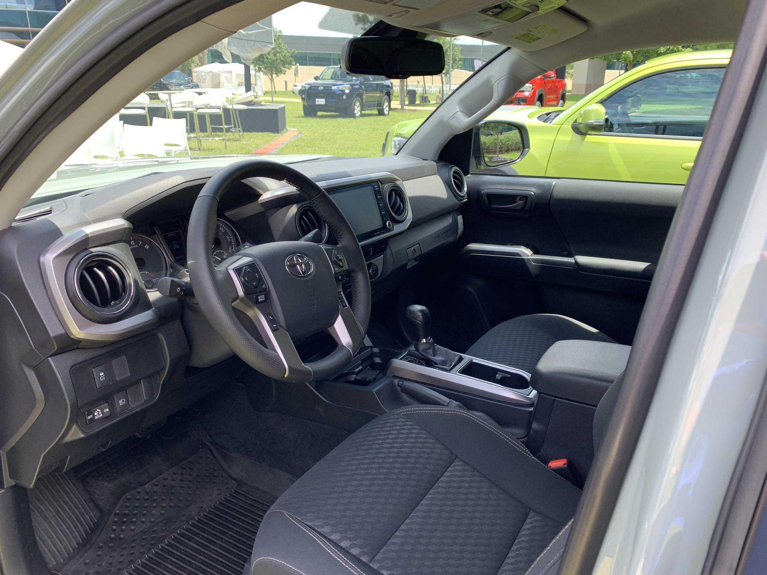 2022 Toyota Tacoma Trail Edition interior