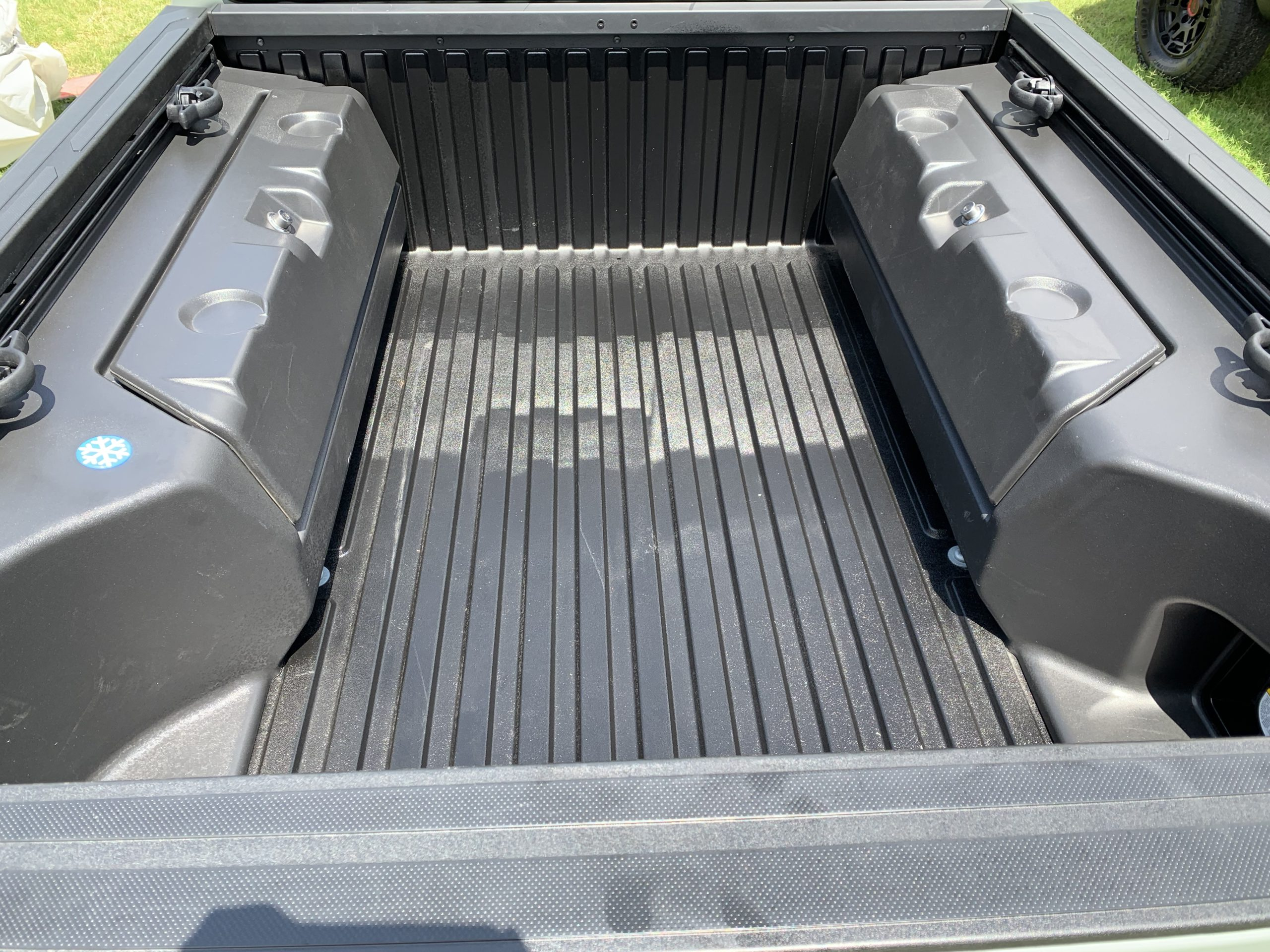 2022 Toyota Tacoma Trail Edition truck bed