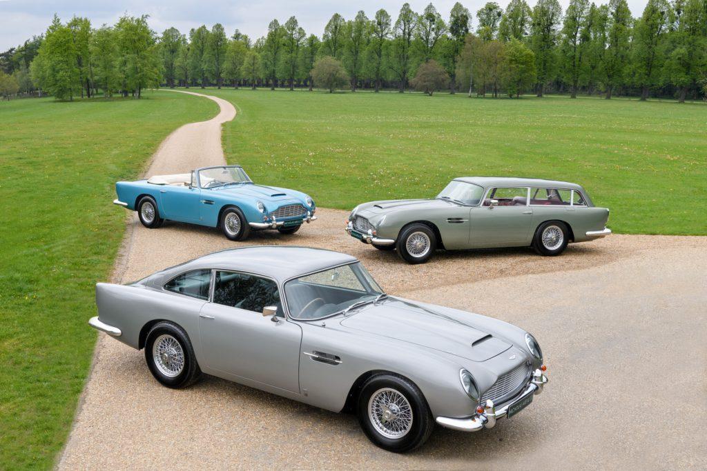 Aston Martin DB5 Vantage Icons Collection