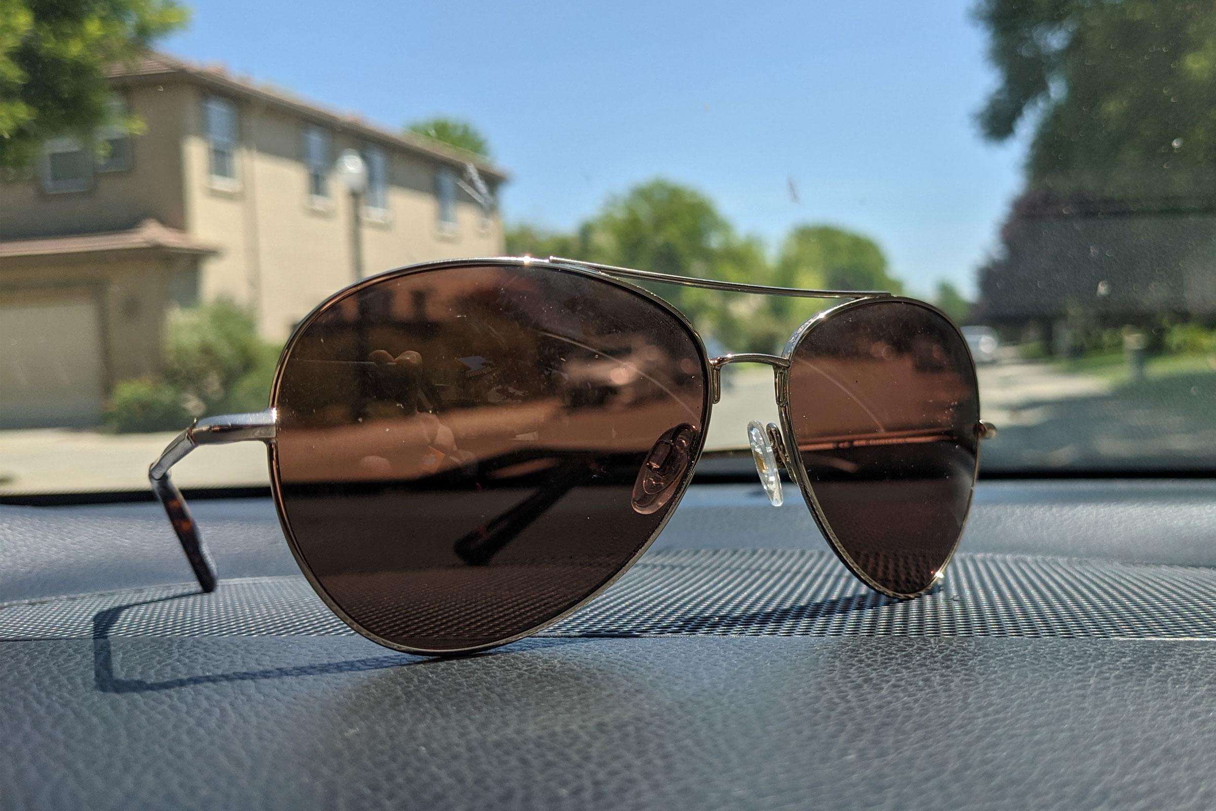 spy aviators - driving sunglasses