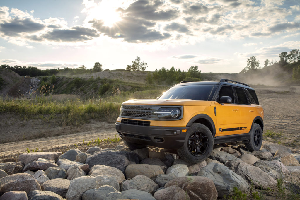 IIHS safety ratings 2021 Ford Bronco Sport