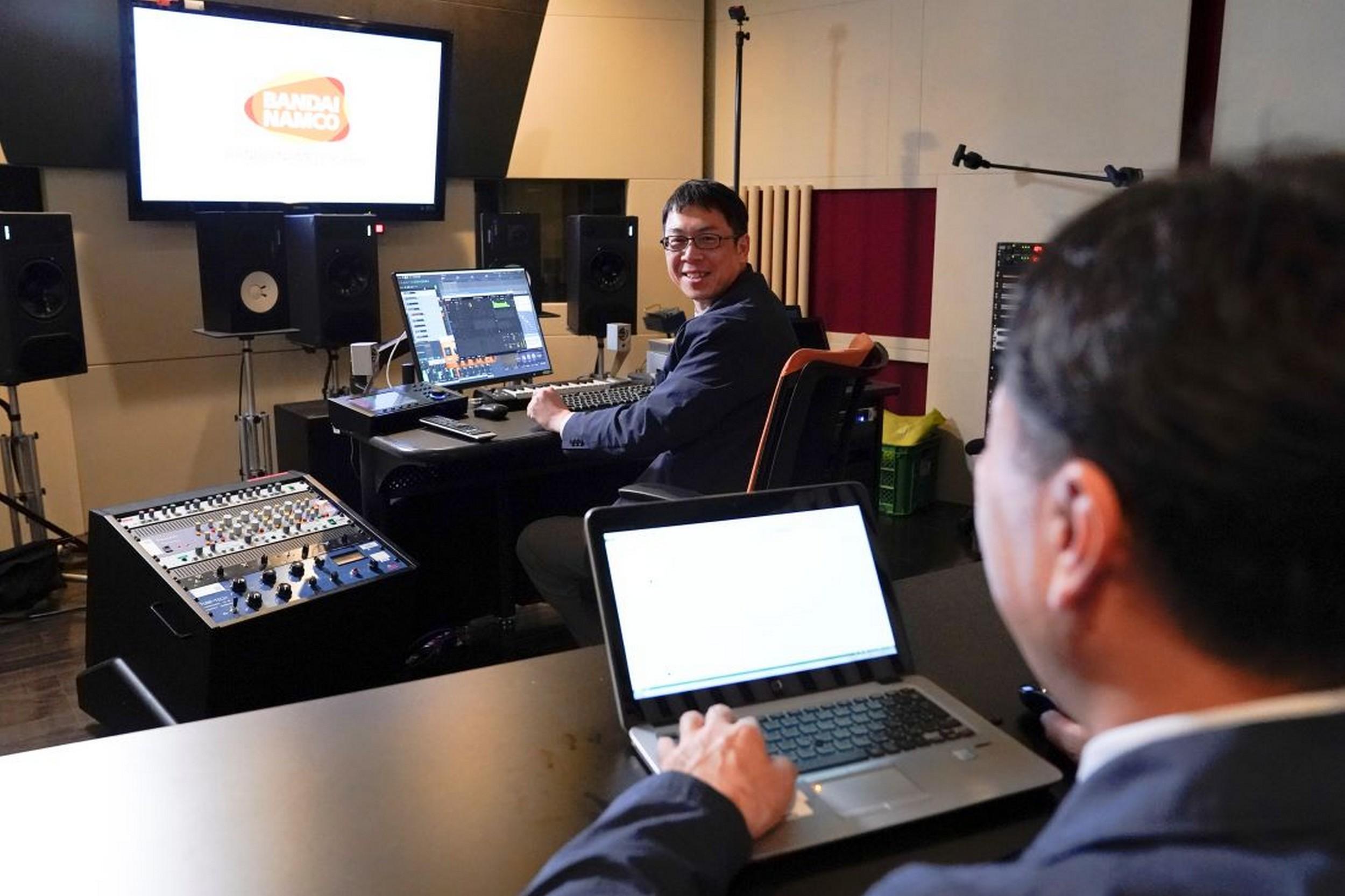Namco sound engineers