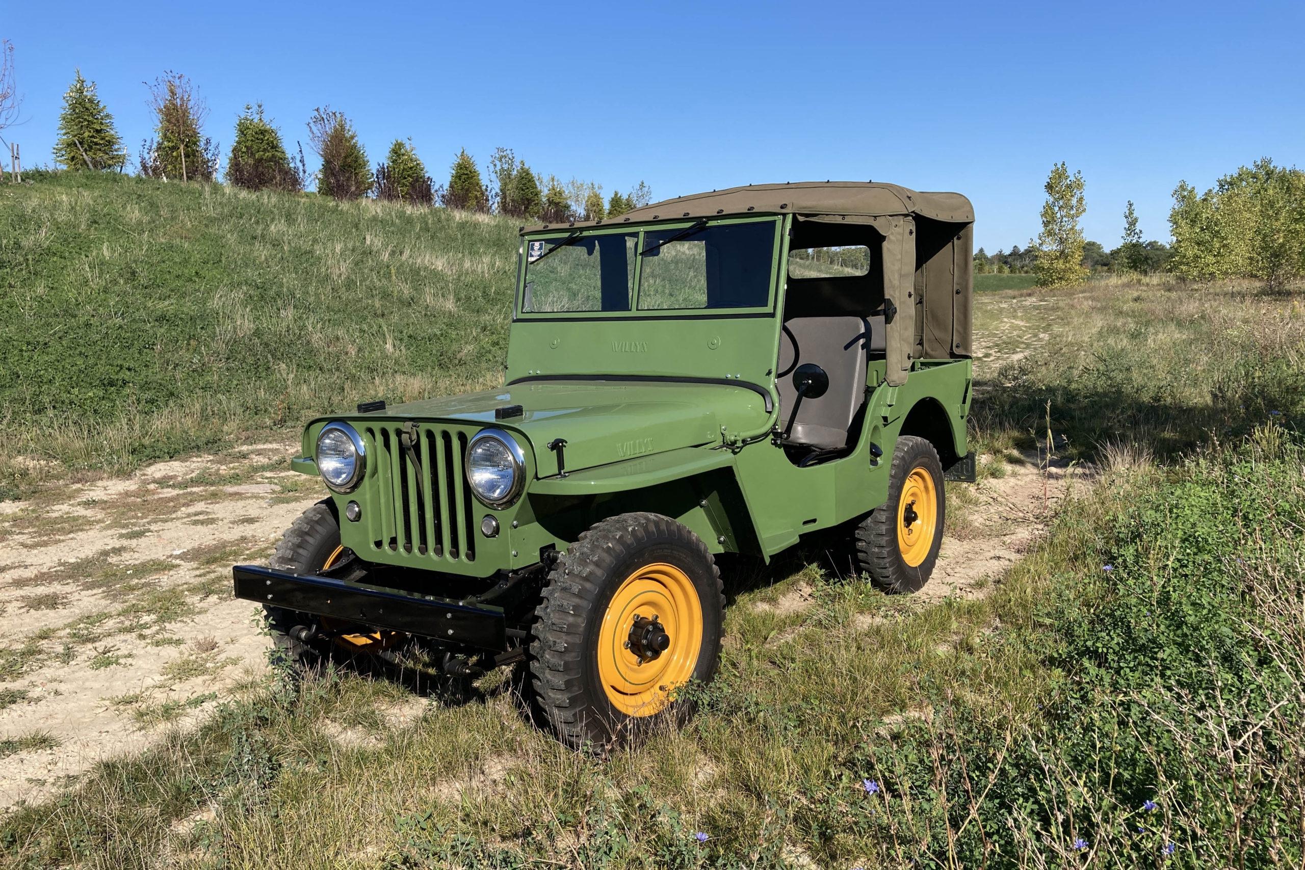 vintage jeeps
